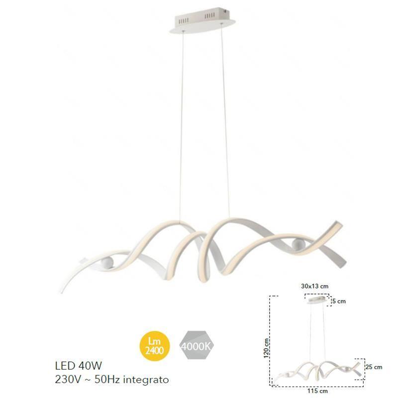 Lampadario a sospensione- Fan Europe LED-MYSTRAL-S