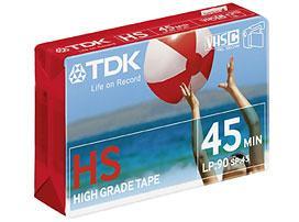 TDK 45HS Videocassetta 45 min 1 pezzo(i)