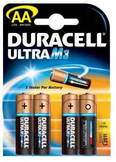 Duracell Ultra M3, AA LR6 Batteria monouso Stilo AA Alcalino