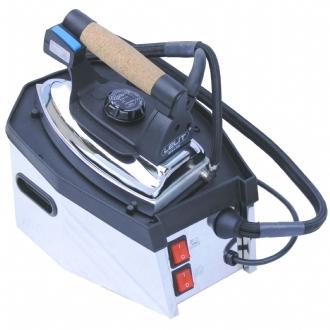 Lelit PS11N ferro da stiro a caldaia 800 W 1,2 L Acciaio inossidabile Nero, Acciaio inossidabile