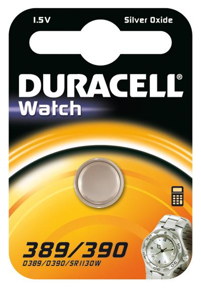 Duracell 389/390 Batteria monouso Ossido d'argento (S)
