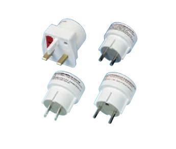 Vivanco Travel plug set adattatore e invertitore Bianco