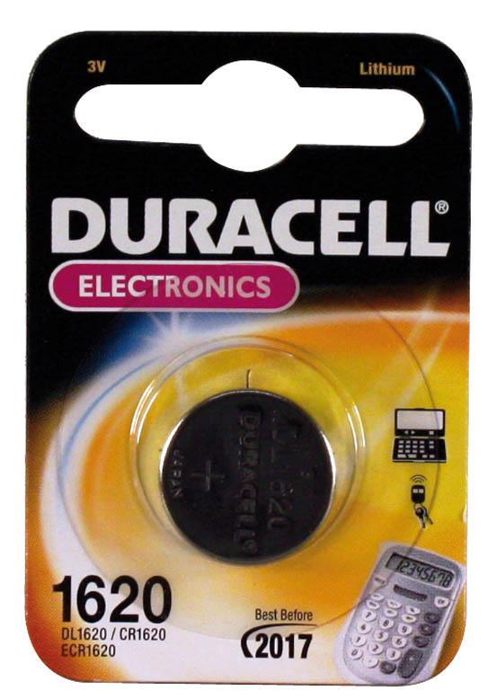 Duracell CR1620 3V Batteria monouso Litio