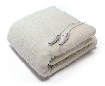 Ardes FC-0422 coperta/cuscino elettrico Riscaldaletto elettrico 120 W Bianco Lana