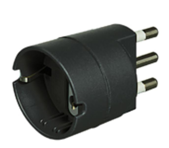 bticino S3624G adattatore per presa di corrente Antracite