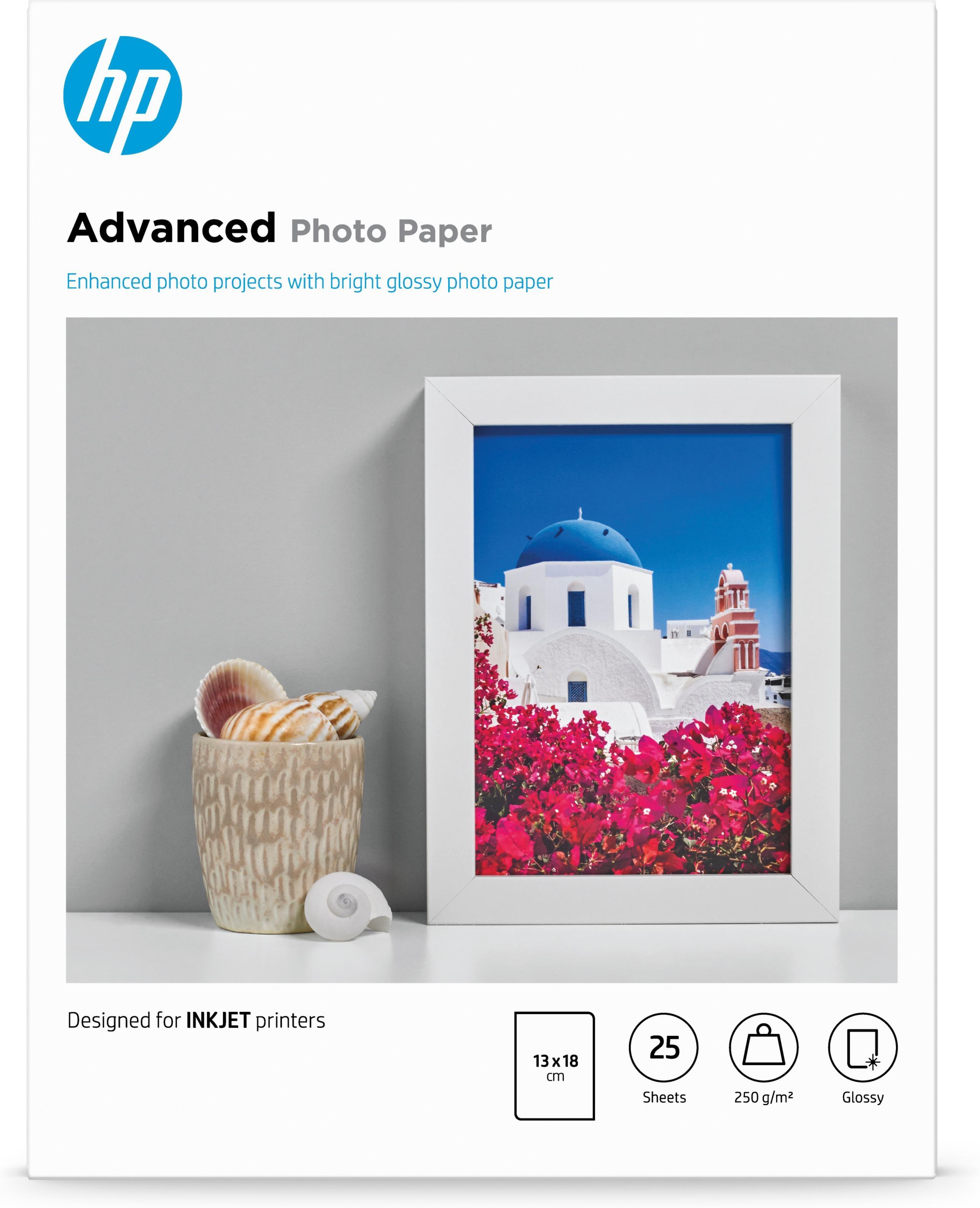 HP Q8696A carta fotografica Lucida