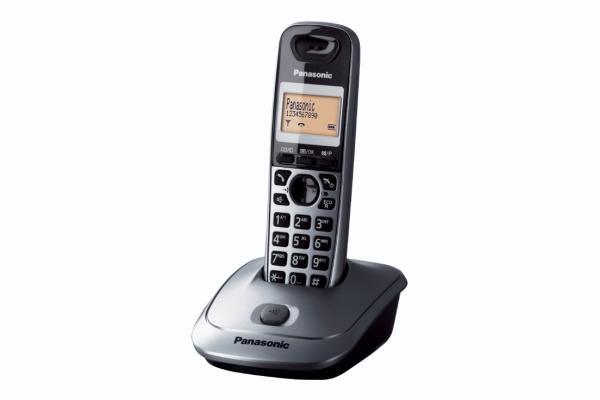 Panasonic KX-TG2511JTT telefono Telefono DECT Identificatore di chiamata Titanio