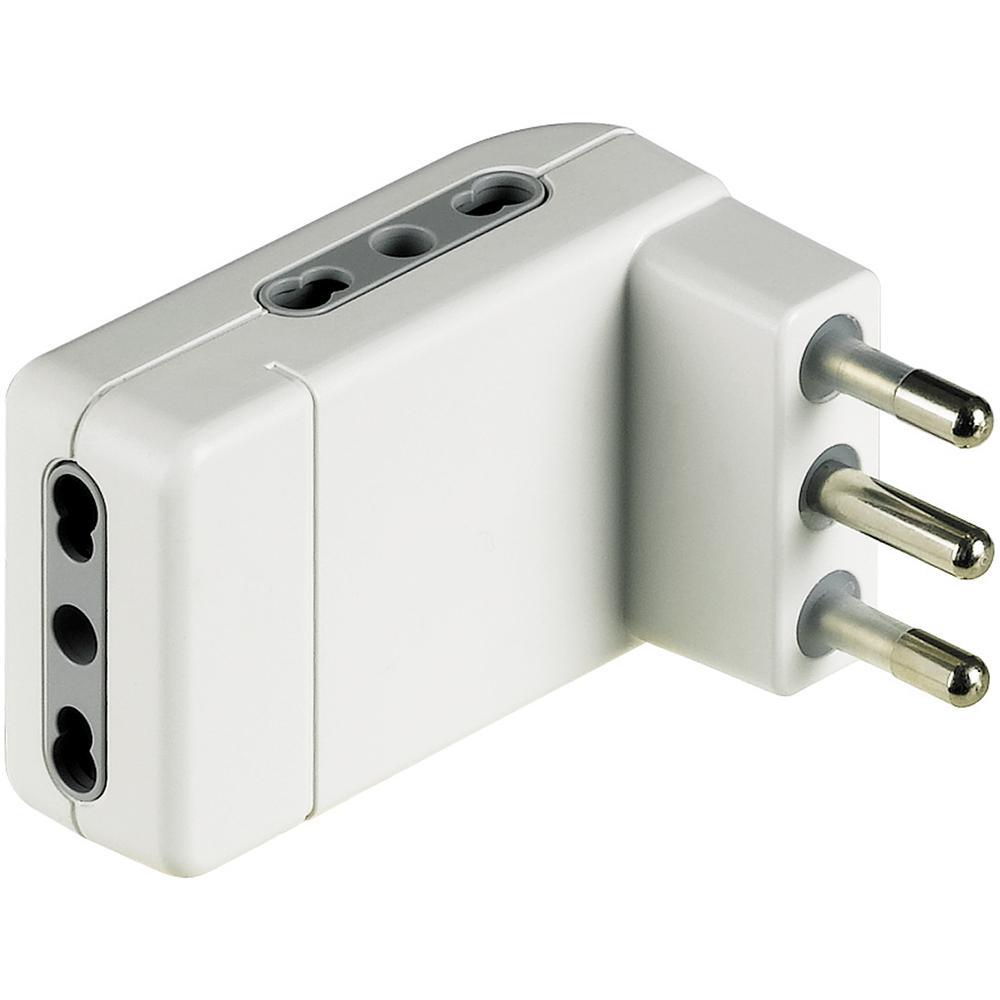 bticino S3606DE adattatore per presa di corrente Tipo L (IT) Bianco
