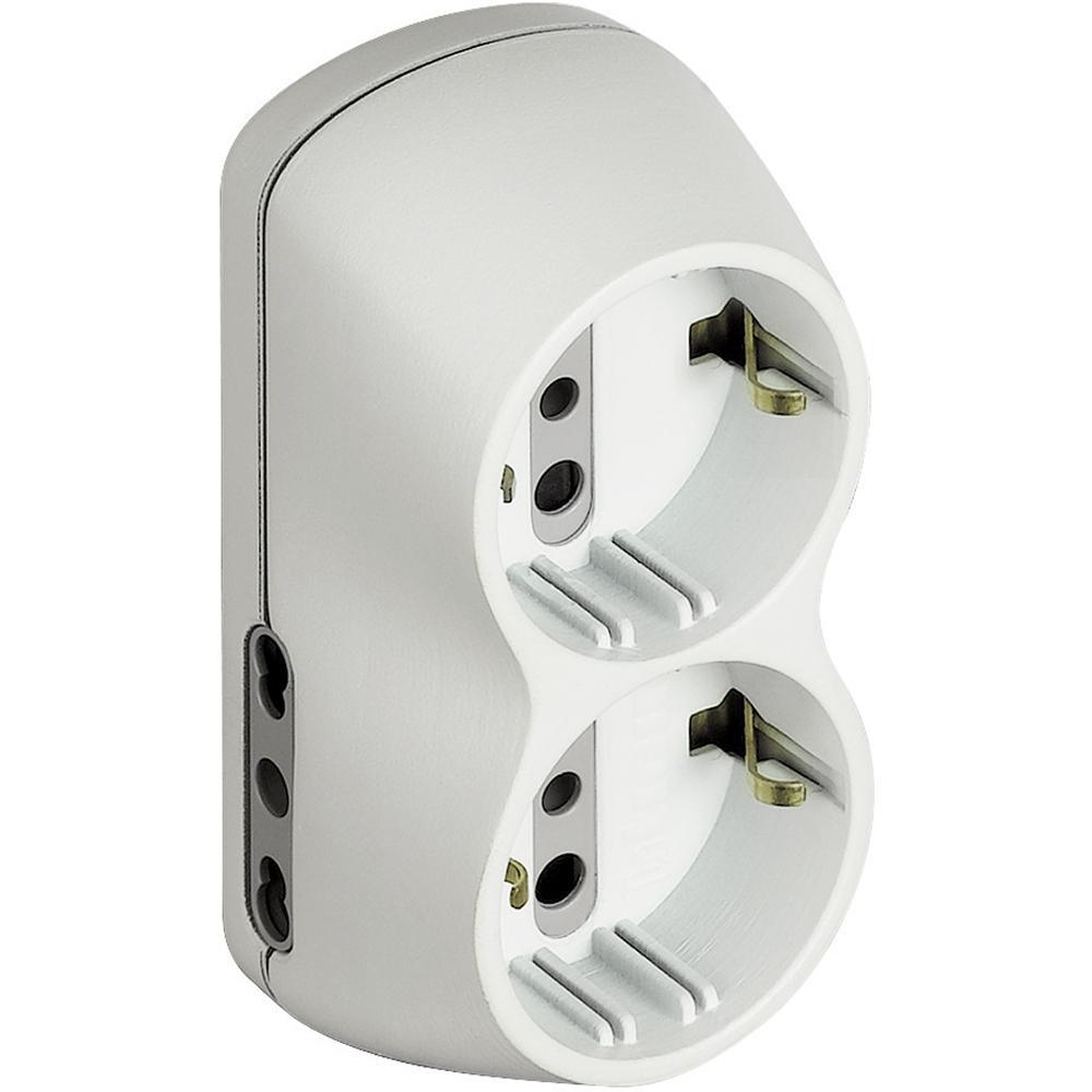 bticino S3614D adattatore per presa di corrente Tipo L (IT) Bianco