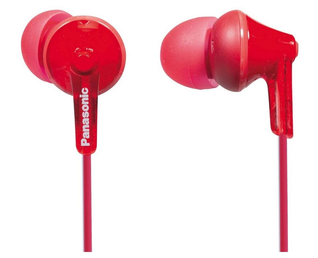 Panasonic RP-HJE125E-R cuffia e auricolare Cuffie Rosso