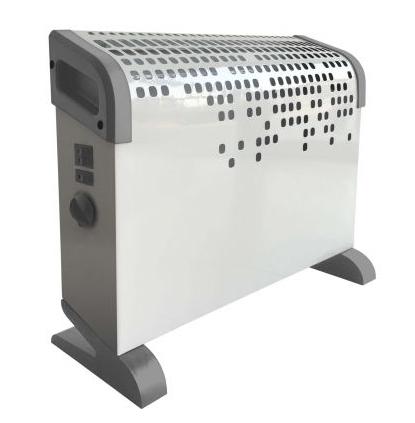 Ardes AR4C03 stufetta elettrica Interno Bianco 2000 W Riscaldatore ambiente elettrico con ventilatore