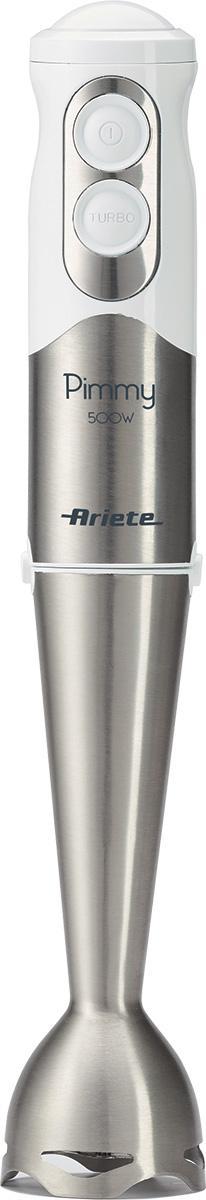 Ariete Pimmy 0,5 L Frullatore ad immersione 500 W Acciaio inossidabile, Bianco