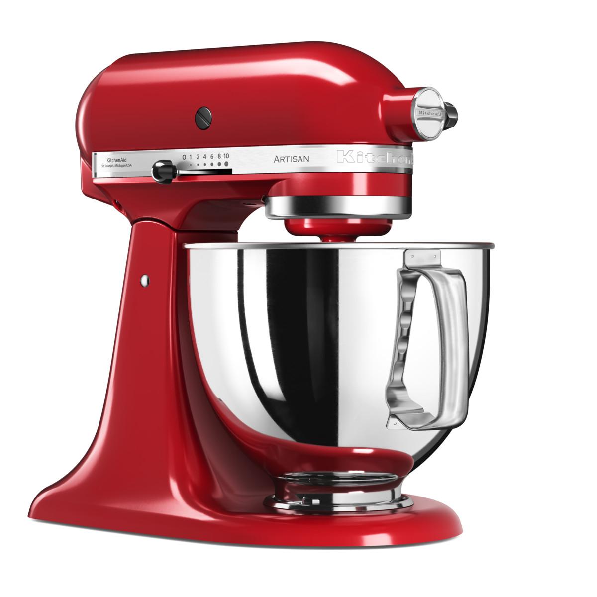 KitchenAid 5KSM125EER 300W 4.8L Rosso robot da cucina