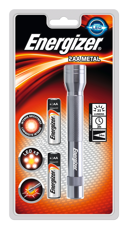 Energizer ENVALUET06 Torcia a mano LED Grigio torcia