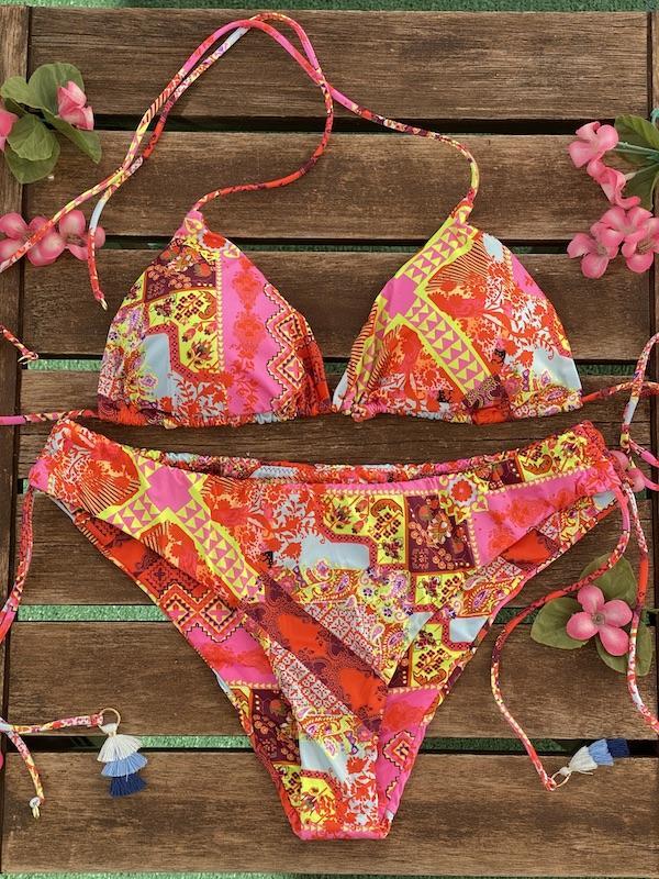 Bikini Triangolo e slip fianco regolabile Venture Effek