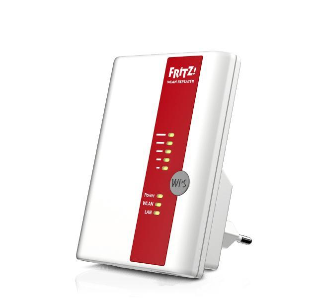 AVM FRITZ!WLAN Repeater 310 International 300 Mbit/s Bianco
