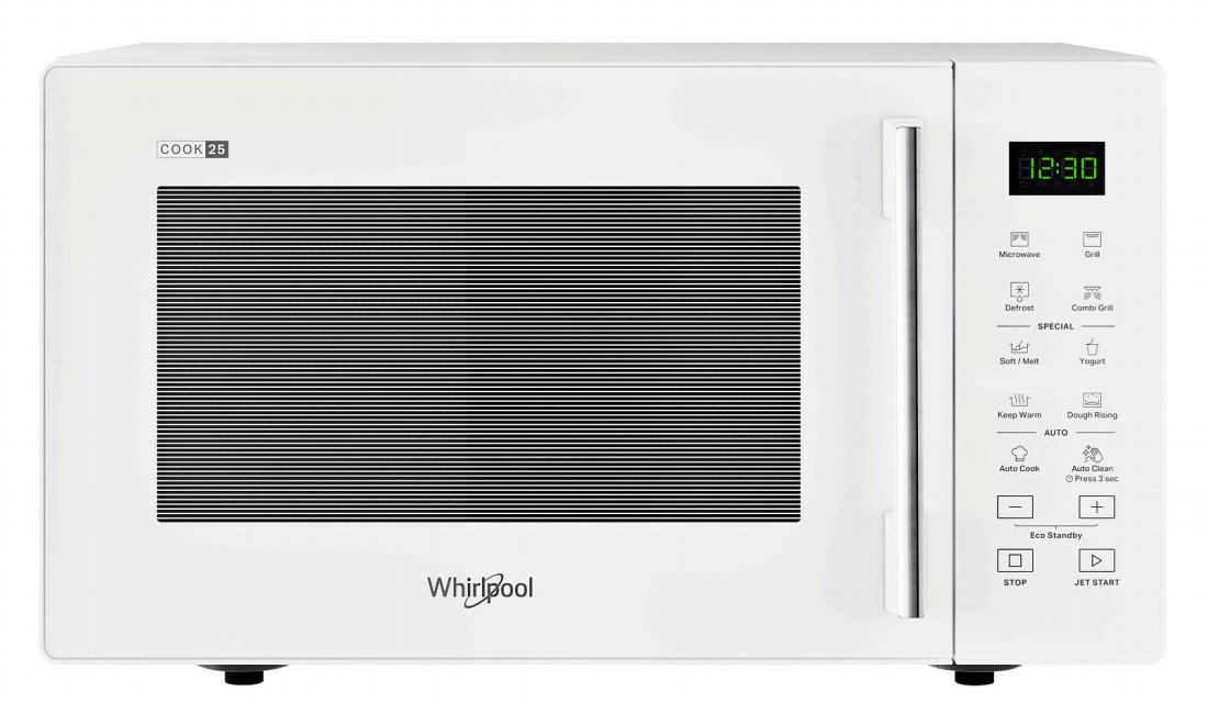 Whirlpool MWP 253 W Superficie piana Microonde con grill 25 L 900 W Bianco