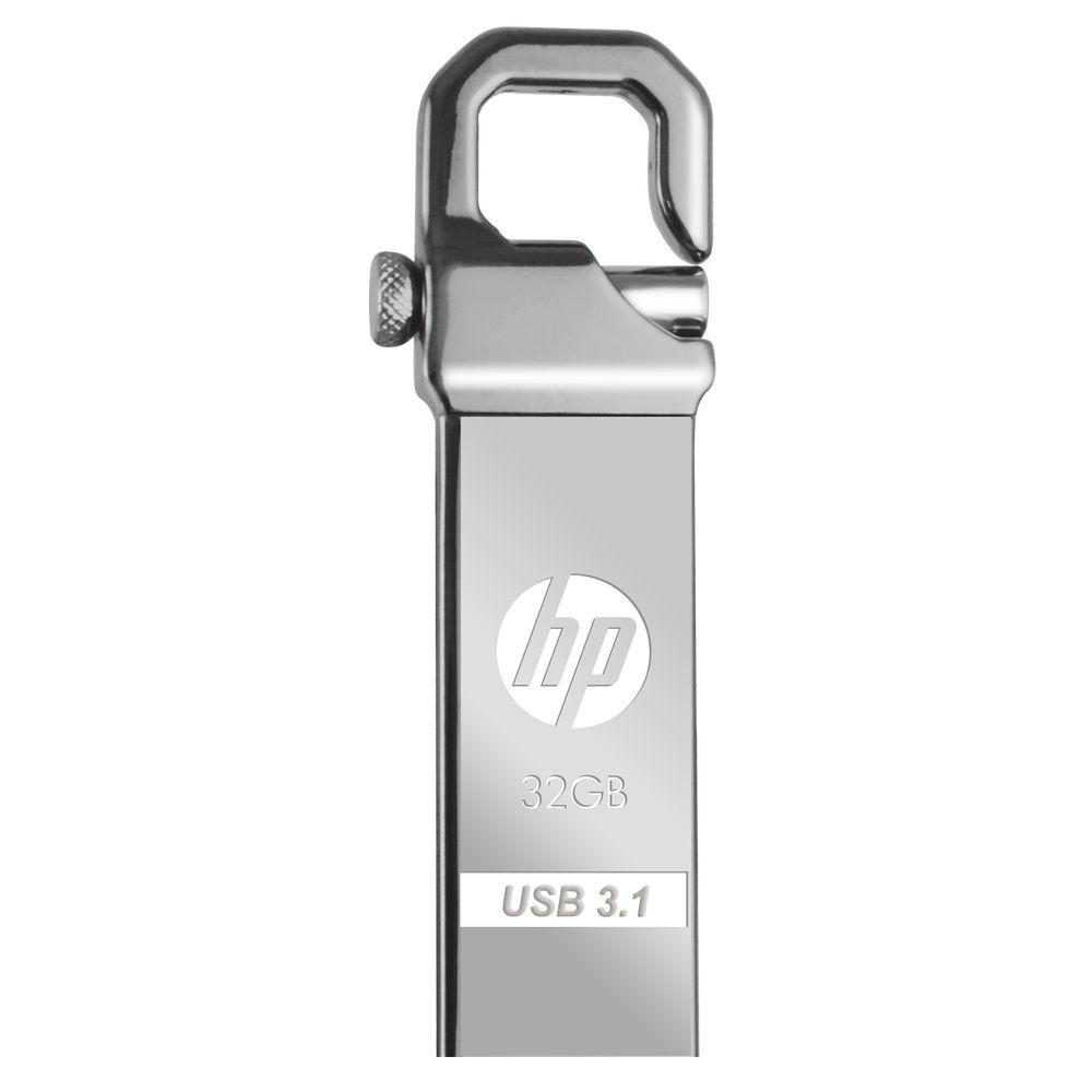 HP x750w unità flash USB 32 GB USB tipo A 3.2 Gen 1 (3.1 Gen 1) Acciaio inossidabile