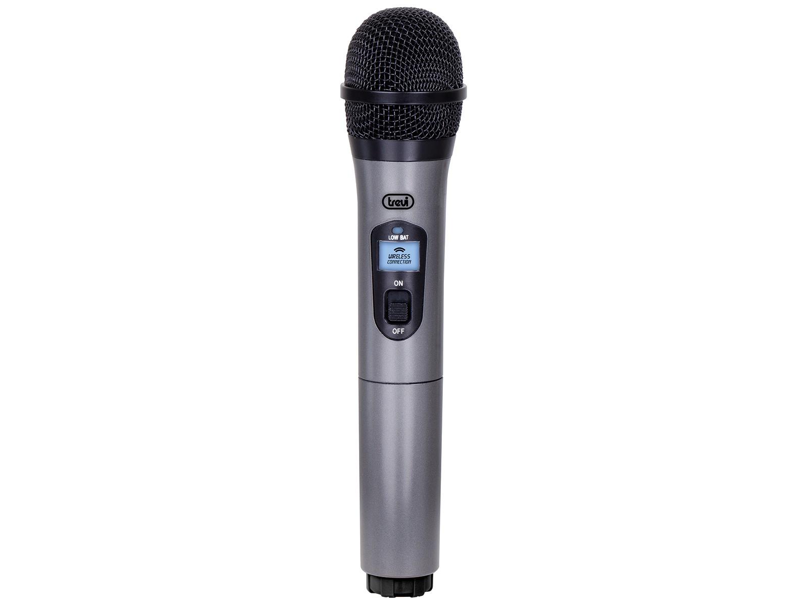 Trevi EM 401 Microfono per palco/spettacolo Nero, Grigio