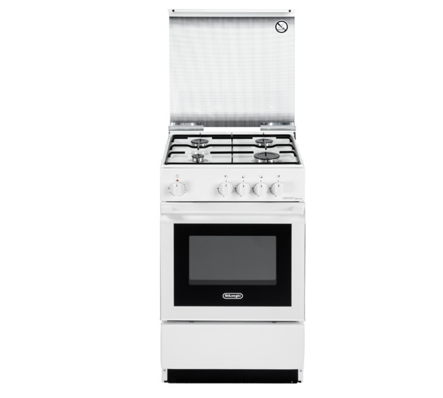 De'Longhi SESW 554 NED cucina Piano cottura Gas Bianco B