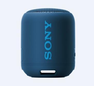 Sony SRS-XB12, speaker compatto, portatile, resistente all'acqua con EXTRA BASS, blu
