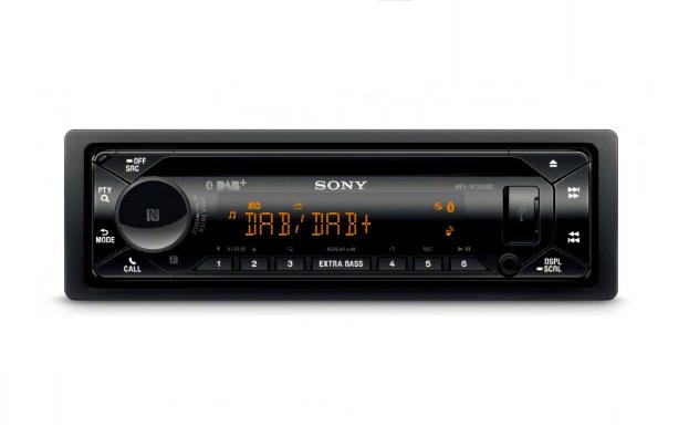 Sony MEXN7300KIT.EUR Ricevitore multimediale per auto Nero Bluetooth