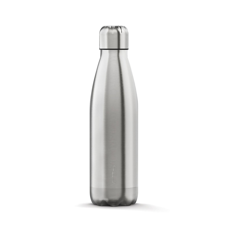 The Steel Bottle Classic Bottiglia termica 500 ml Acciaio inossidabile Color Argento