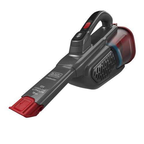Black & Decker Aspirabriciole Dustbuster BBHV315B Nero, Rosso