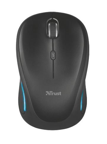 Trust Yvi FX mouse Ambidestro RF Wireless Ottico 1600 DPI