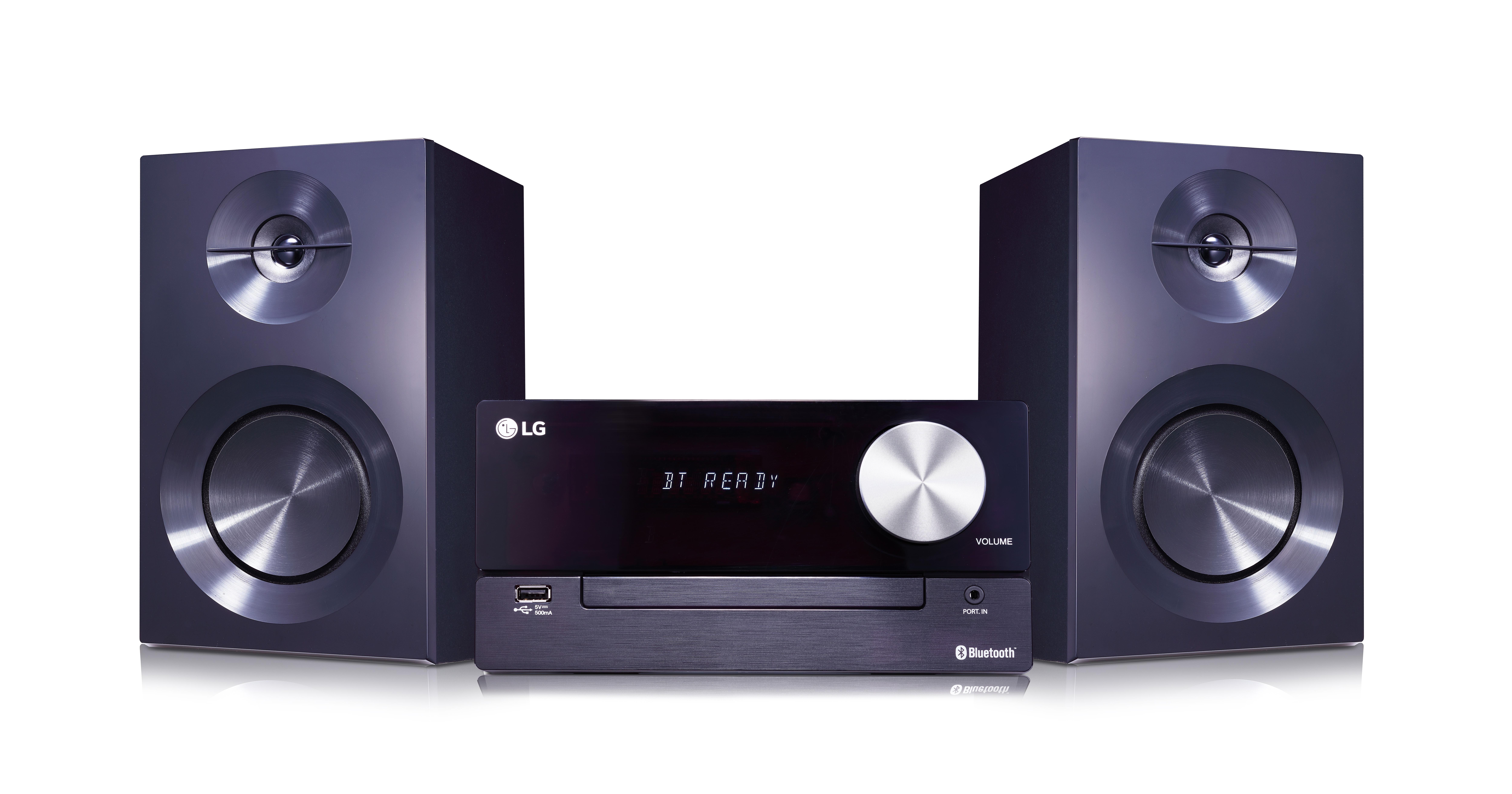 LG XBoom Micro Hi-Fi Microsistema audio per la casa Nero 100 W