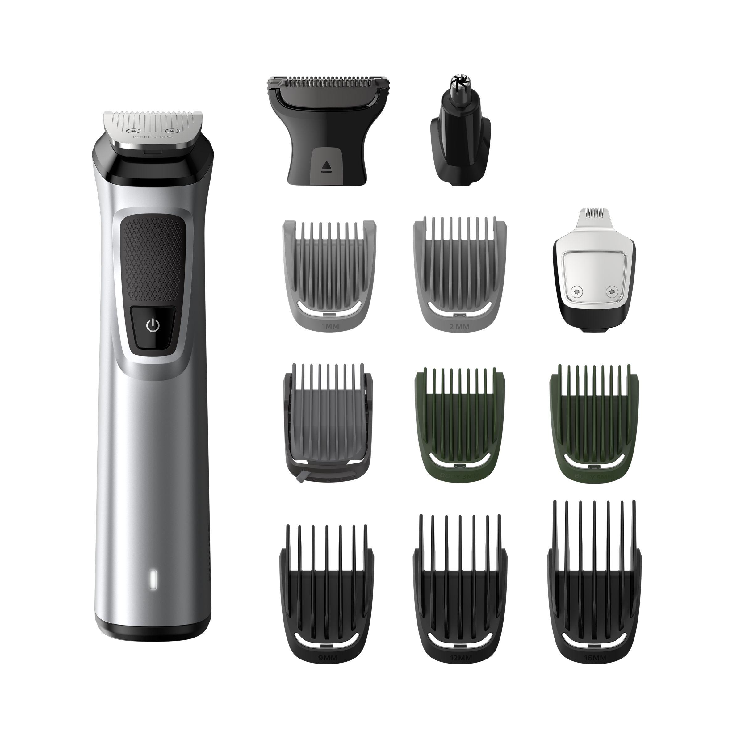 Philips MULTIGROOM Series 7000 13 accessori 13-in-1, barba, capelli e corpo