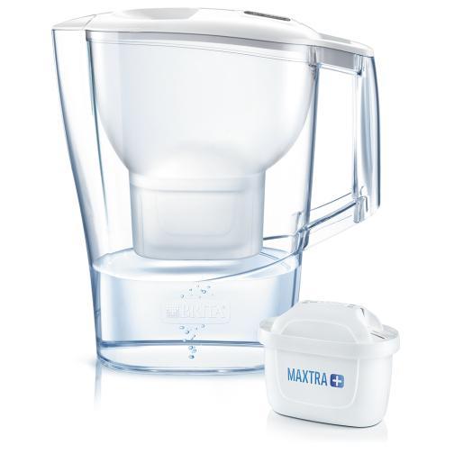 Brita Aluna Cool Caraffa filtrante 2,4 L Trasparente, Bianco