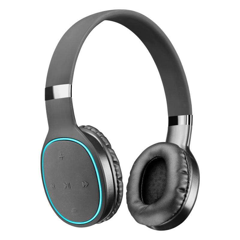 AQL Kosmos2 Cuffie Bluetooth Pump Bass con fast recharge Nero