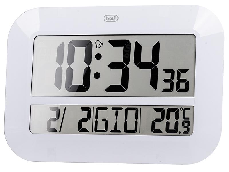 Trevi OM 3540 D Orologio da parete digitale Rettangolo Bianco