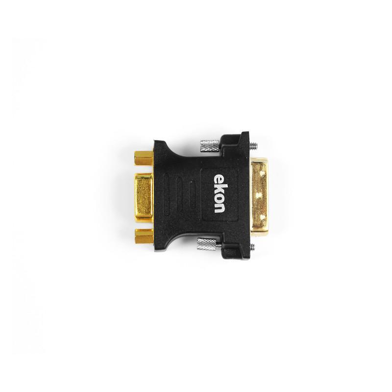 Ekon DVI-I - VGA Nero