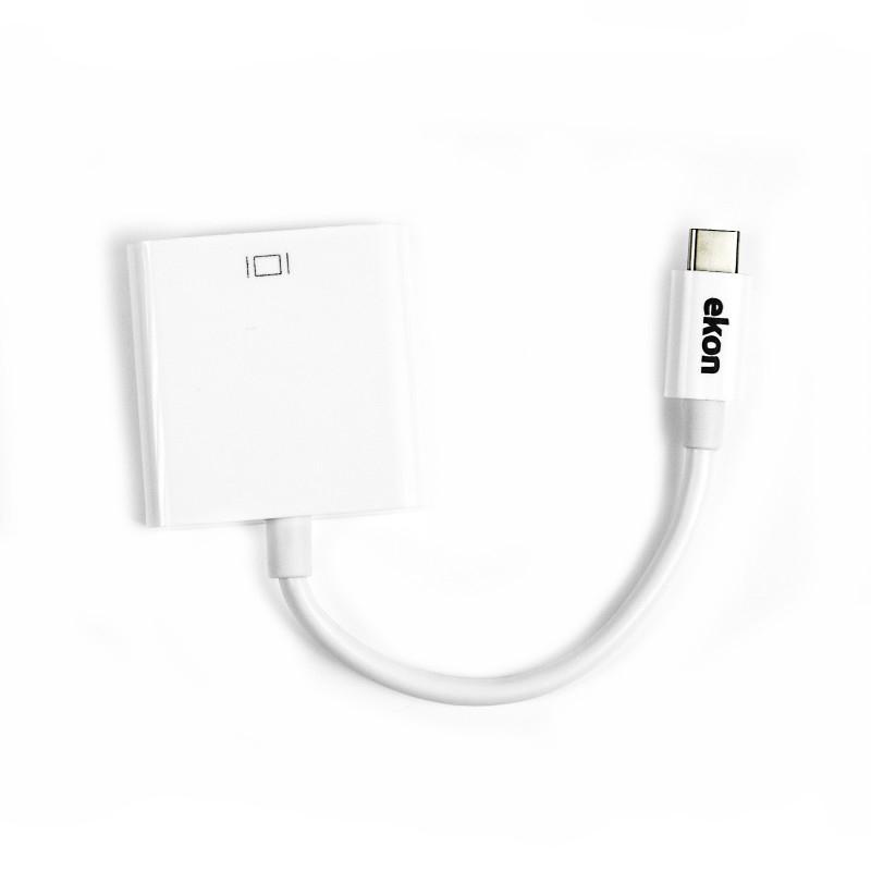Ekon USB Type-C to HDMI adattatore grafico USB Bianco