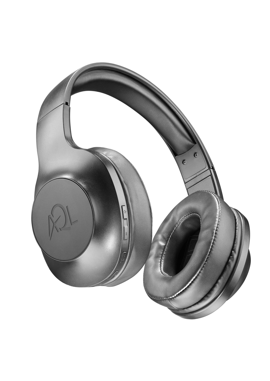 AQL Astros - Universale Cuffie Bluetooth pump bass con microfono Nero