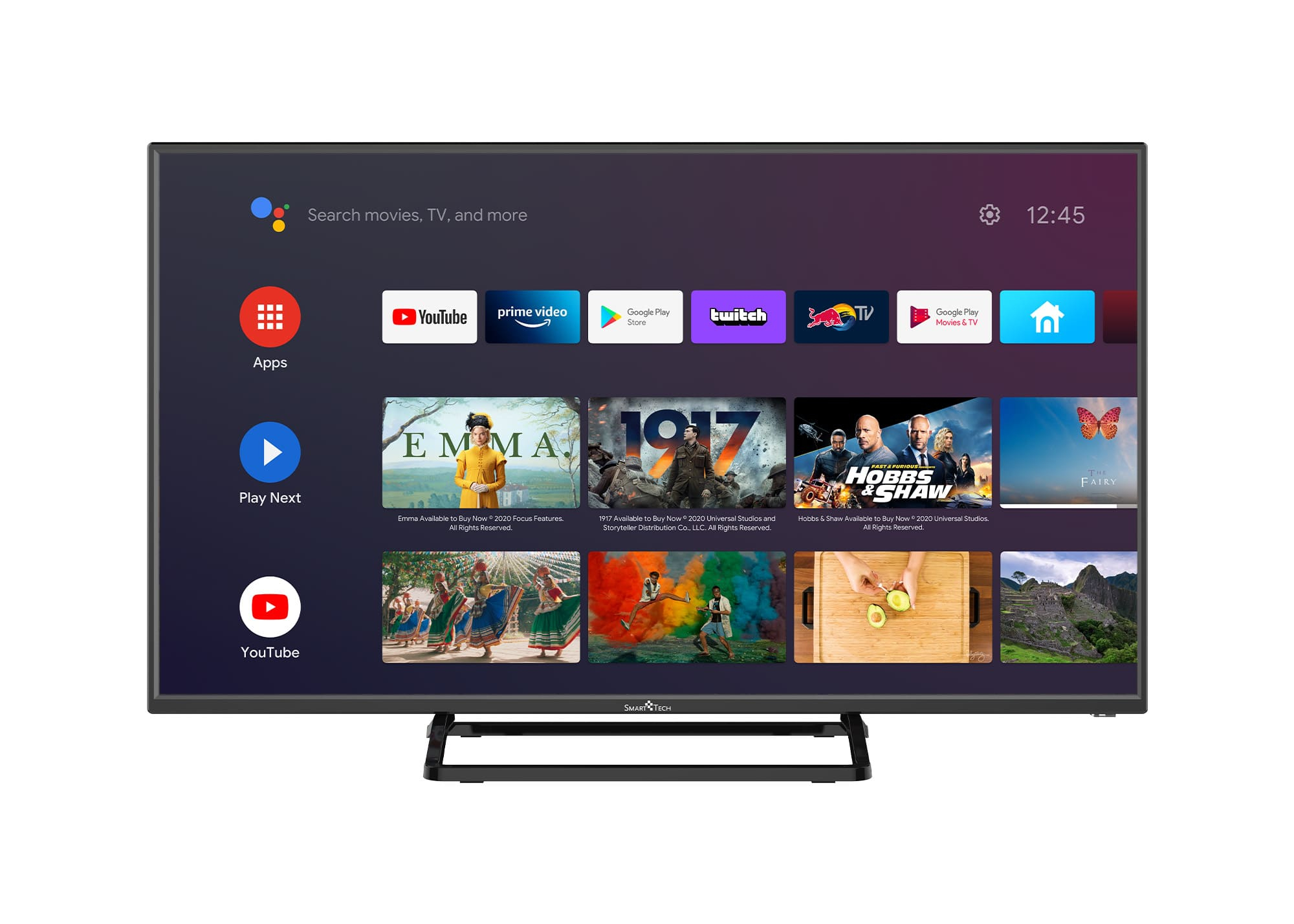 Smart-Tech SMT40N30FC4U1B1 TV 100,3 cm (39.5