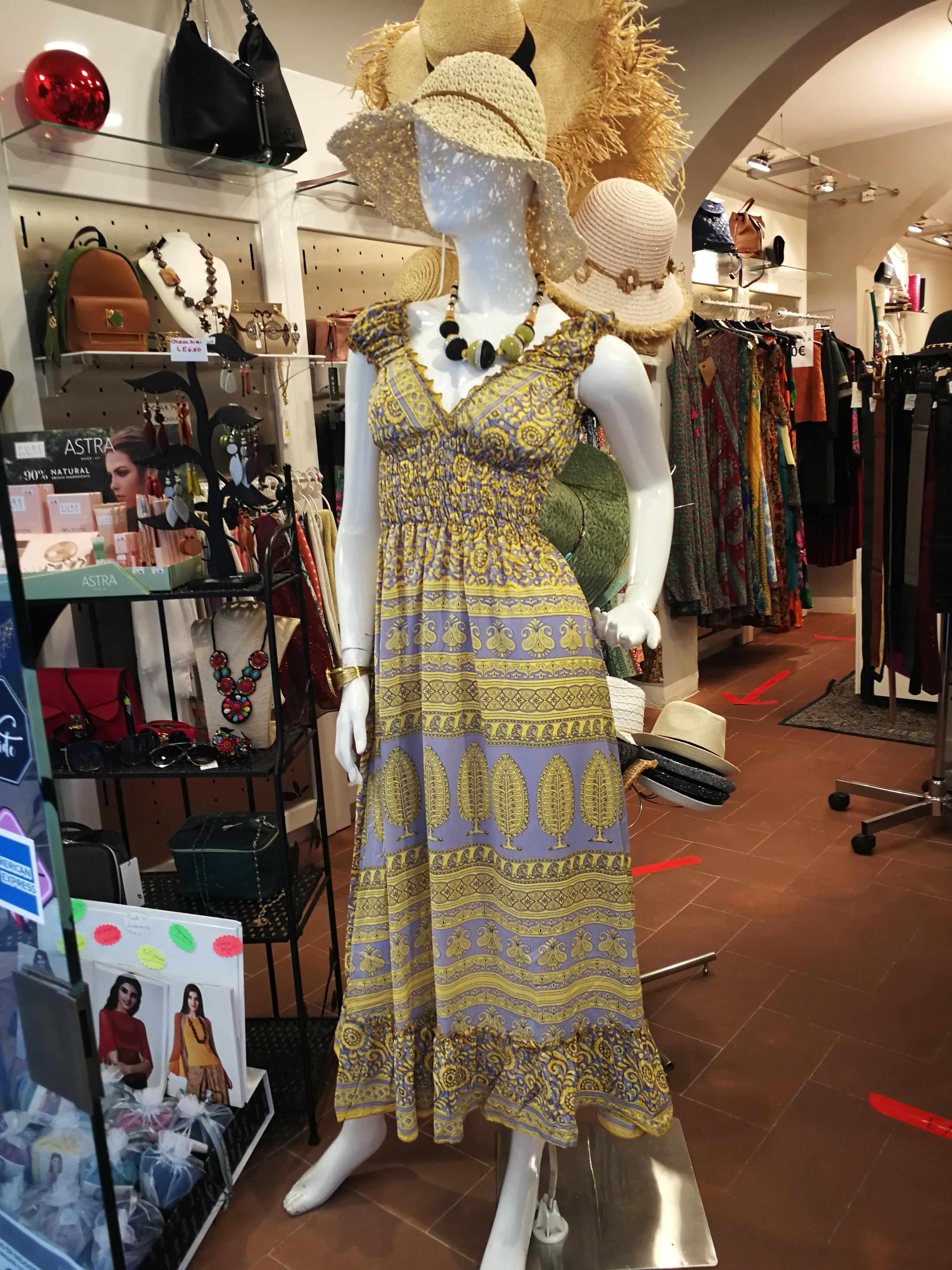 Abito donna lungo etnico chic | Abbigliamento estivo