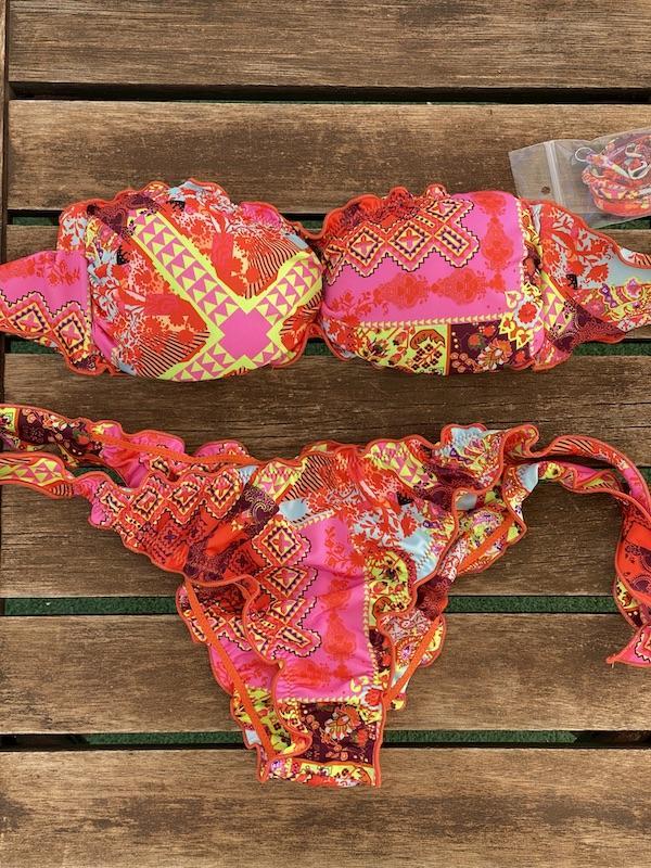 Bikini fascia e slip nodi brasiliano regolabile Frou Frou Venture Effek