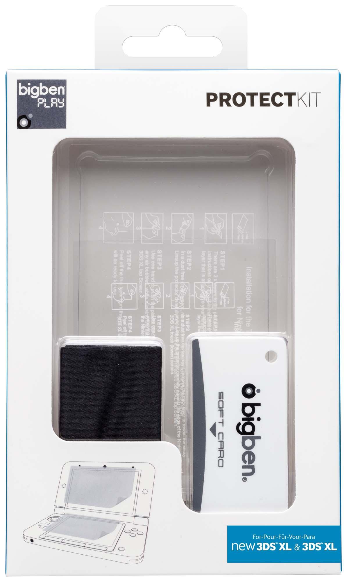Bigben Interactive 3DSXLPROTECTKIT parte e accessorio per console da gioco Protezione per schermo