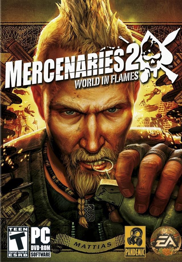 Electronic Arts Mercenaries 2: Inferno di Fuoco, PC ITA