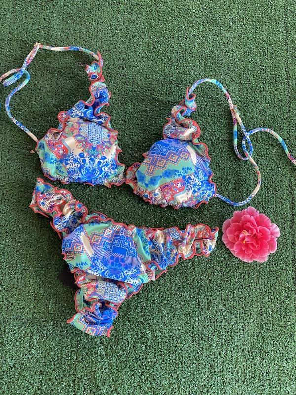 Bikini Triangolo e slip americano frou frou Venture Effek