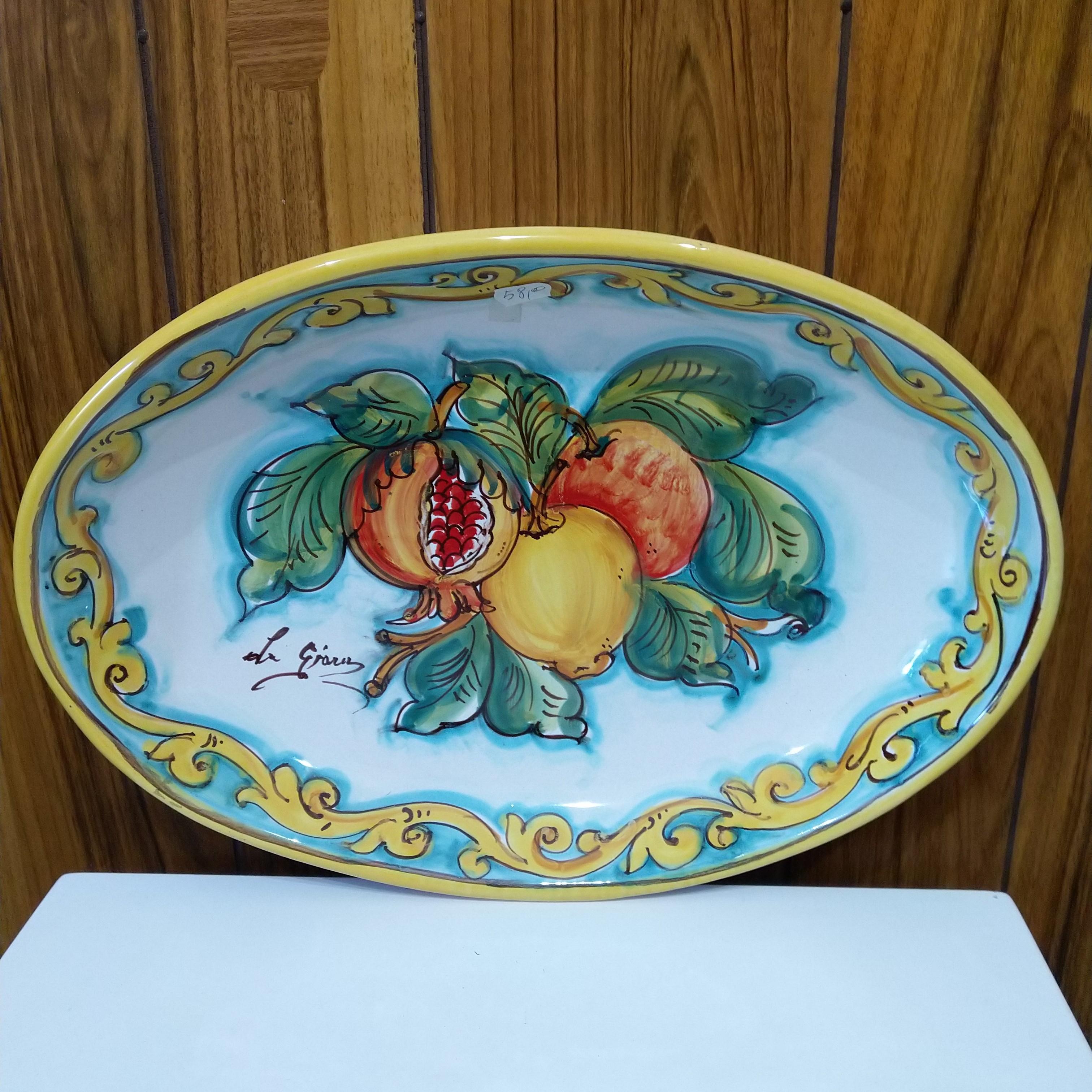 Vassoio in Ceramica