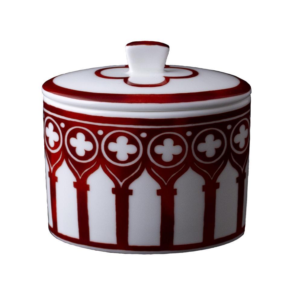 Zuccheriera cc 300 con coperchio | Le loze dei bei palassi | Venezia 1600
