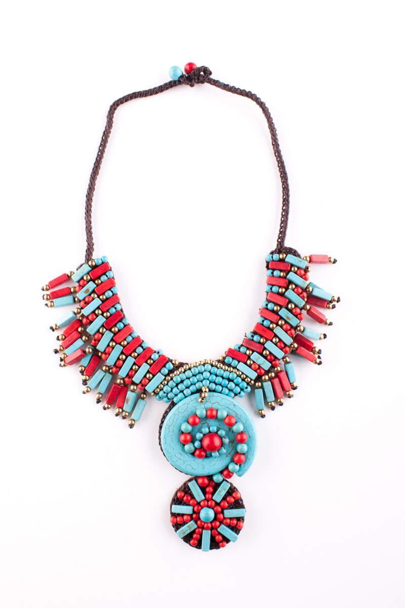 Collana etnica africana | Bigiotteria tribale online