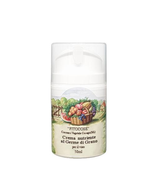 Crema nutriente ecobio | Prodotti naturali per il viso vegan