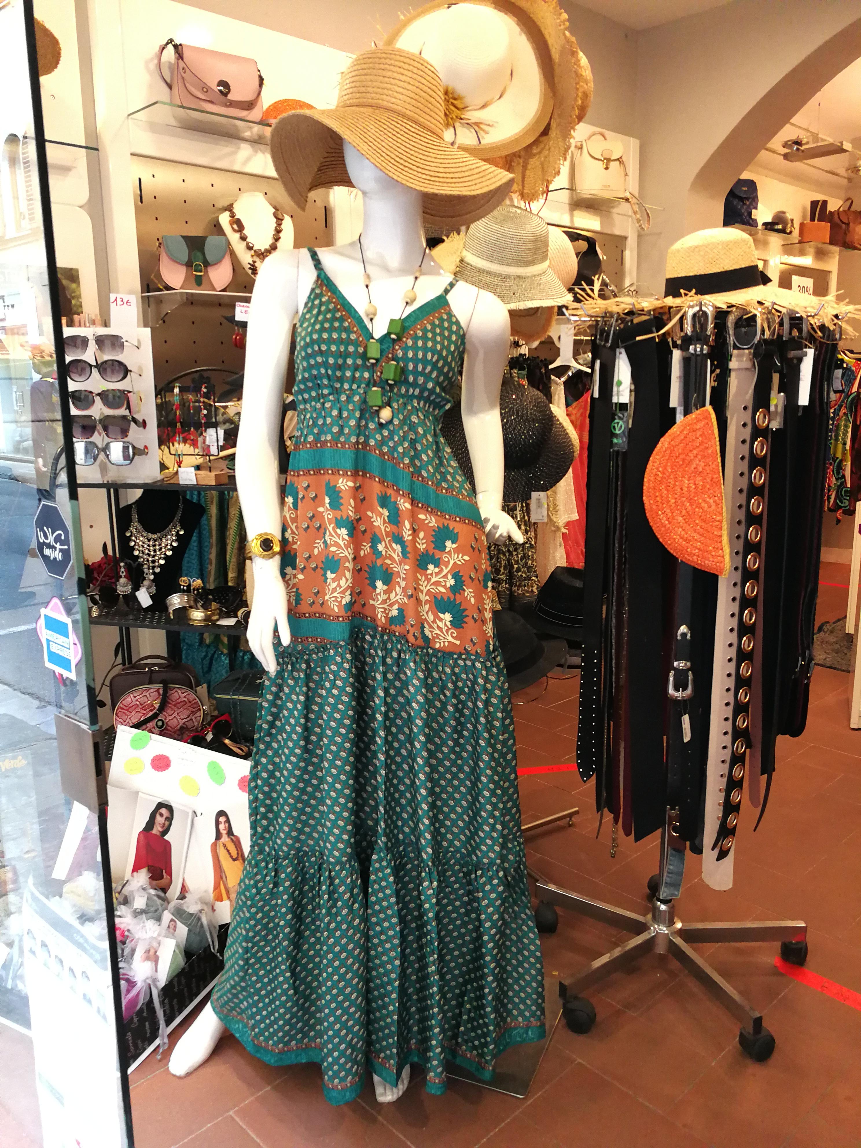 Abito lungo estivo donna | Abbigliamento stile vintage