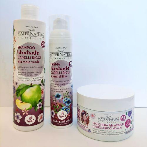 Shampoo idratante per Capelli ricci