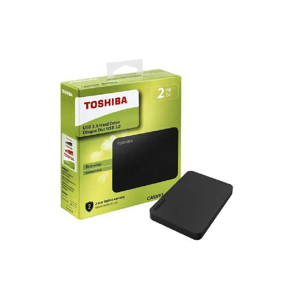 HARD DISK ESTERNO  2TB 2000GB TOSHIBA CANVIO BASICS 2,5